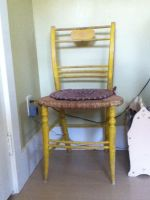 Yellow Chair by AVPMismylife
