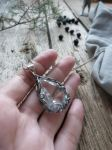Rock crystal pendant by UrsulaOT