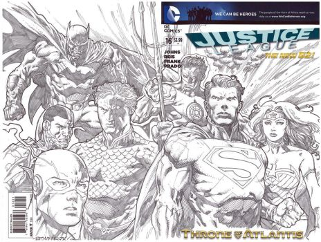 Justice League by Reybronx