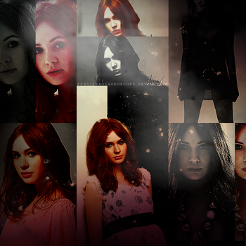 karen gillan. by survivekaleidoscope