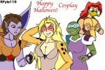 Halloween or Cosplay Crossover by RFyle119