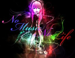 No Music No life by Jenova-art
