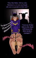 Batgirl Ticklish Situation by Bigfootfantasies