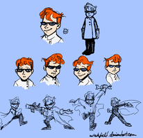 Dexter Doodles by Wickfield