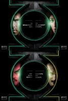 Green Lantern movie posters by Hyperkid37