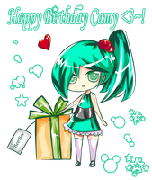 +Happy Birthday Camy+ by HunoSan