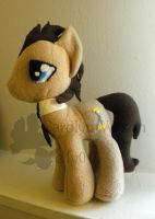 MLP Plush Doctor Whooves by elfy016