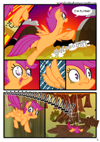 The Beginning p.3 - Scootaloo the Adventurer by alskylark