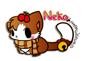 :::Neko(Pixel Commish):: by PrePAWSterous