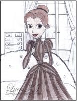 Victoria Everglot Disney Princess Style by LucieKJ