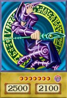 Dark Magician - Mago Oscuro - 4Kids Version by DaniOcampo1992