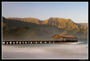 Pier At Sunrise by aFeinPhoto-com