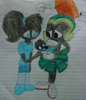 Marvin and Lilly's baby by Magic-Kristina-KW