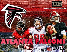 Atlanta Falcons Remake Wallpaper by tmarried
