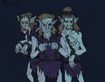 The First Generation of Orcs by Mara999