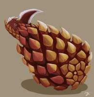 Steve the pinecone by chaetoceros