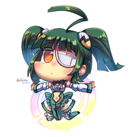 [Commission] Chibi Tita Nium by Porforever