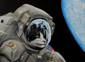 Ground control to Major Tomcat by Abuttonpress2Nothing