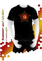 Hammer and sickle by R-evolution-GFX