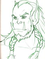 WoW - Warchief Thrall by Djehuti