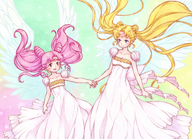ReDraw screenshot Sailor Moon by KazeAi7