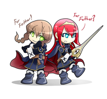 SG x FE Awakening crossover by kensuuDK