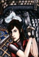 Resident Evil 2 by Sass-Haunted