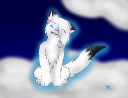 Snowfur by MidnightTheUmbreon