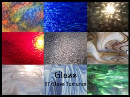 Glass Textures by TatteredButterfly