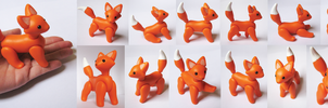 Posable Fox by vonBorowsky