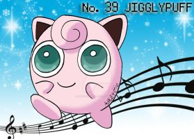No. 39 Jigglypuff by YuniNaoki