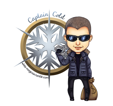 Chibi Captain Cold [LEGENDS OF TOMORROW] by White-Magician