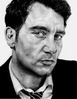 Clive Owen by violentjelly