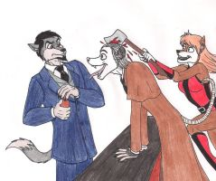 Unwelcome Guest is Welcome by 13foxywolf666