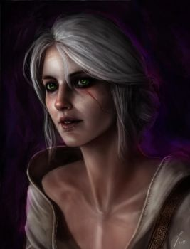 Ciri - Witcher 3 by Lockdevil