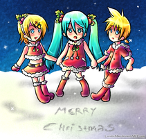 Merry Christmas 2011 by LunaticMao