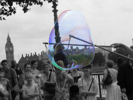 soap bubble by thebobi