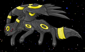 Space the Umbreon: Normal Form by The-Umbreon
