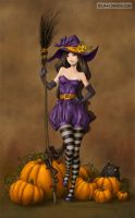 Witch Kimberly by LiaSelina