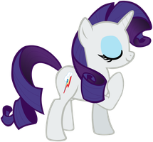 My fifth vector of Rarity. by Flutterflyraptor