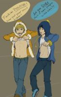 The Misadventures of Kenny and Craig I by Zteif