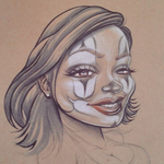 PAYASA CLOWN GIRL by BROWN73