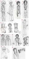 Drawings: Past and Present by sheepers
