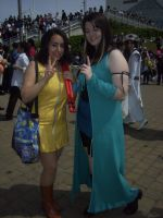 Anime Expo - Rinoa n Selphie by BabemRoze