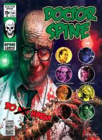 Doctor Spine DVD Cover Color by BillReinhold