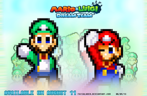 Mario and Luigi Dream Time - It's TIME by FaisalAden