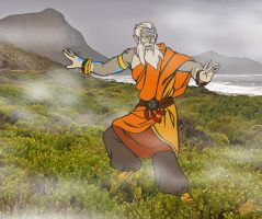 Jaga the Air Bender by ReaperClamp