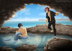 Stranded - {Free!} by Sakura-Rose12