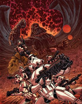 Wrath of the Galactic Empire by RobbVision