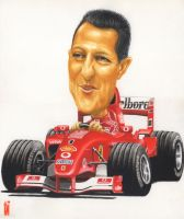 SUPER SCHUMI by toniart57